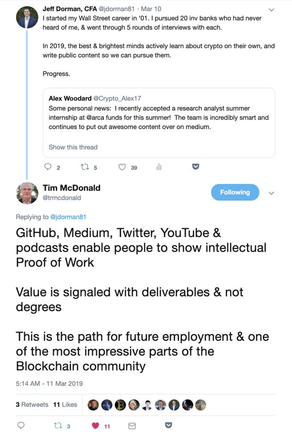 Jeff Dorman CFA Tweet Value Signals