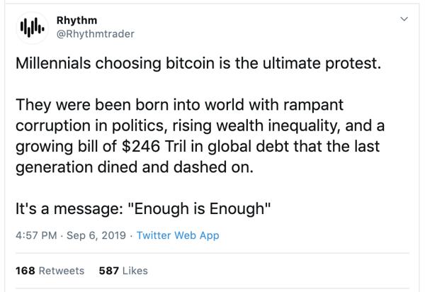 Millennials Choose Bitcoin Currency